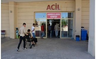 Siverek'te otomobil devrildi: 6 yaralı