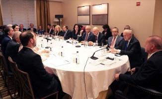 Erdoğan Yahudi kuruluş temsilcileriyle buluştu
