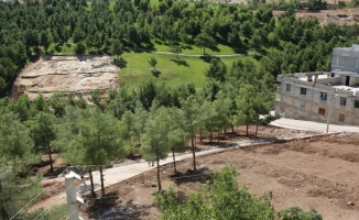 Eyyübiye'ye 20 bin metrekarelik bir yeşil alan daha