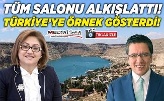 Fatma Şahin Albayrak'ı Türkiye'ye örnek gösterdi