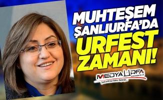 Fatma Şahin'den Urfa'ya övgü dolu sözler!