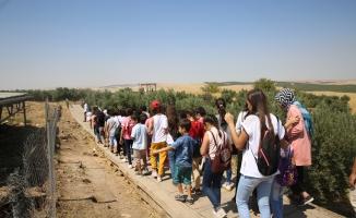 Haliliye'den öğrencilere Göbeklitepe gezisi