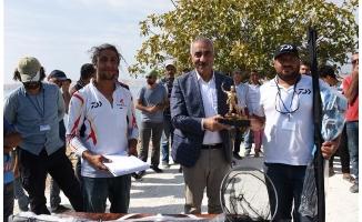 Hilvan'da olta balıkçılarına ödülleri verildi