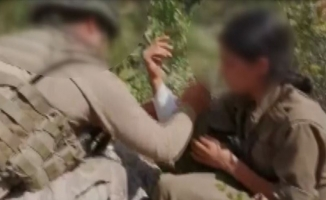 Mehmetçik'ten yaralı teröriste şefkat eli