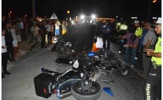 Muğla'da motosikletler çarpıştı: 1'i çocuk 2 ölü