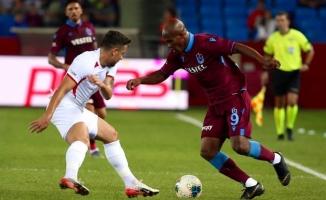 Trabzonspor, sahasında 2 puan kaybetti