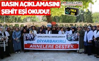 Urfalı annelerden, Diyarbakırlı annelere destek