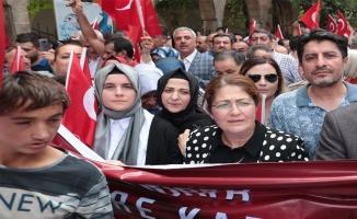 Urfalı kadınlardan Diyarbakırlı annelere destek