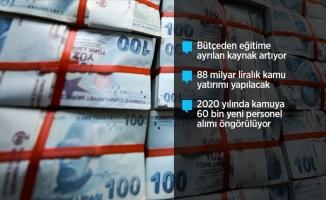 2020 yılı merkezi yönetim bütçesi belli oldu