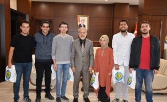HRÜ öğrencilerine Ekonomik Kalkınma Projesi ödülü