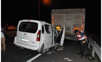 Mardin'de feci kaza: 1'i bebek 3 kişi öldü