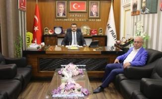 Mirkelam, Başkan Yıldız ile görüştü