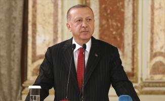 Erdoğan: Hedeflerimize kararlılıkla yürüyeceğiz