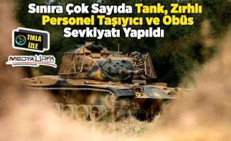 Suruç'a askeri sevkiyat!