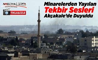 Tel Abyad'dan tekbir sesleri yükseldi