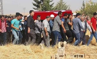 Van'da vefat eden Urfalı polis toprağa verildi
