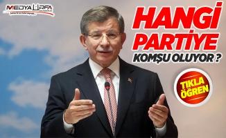 Davutoğlu hangi partiye komşu oluyor ?