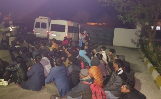 Diyarbakır'da 69 düzensiz göçmen yakalandı