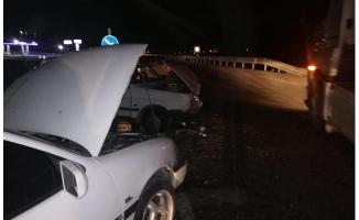 Gaziantep'te iki otomobil çarpıştı: 10 yaralı