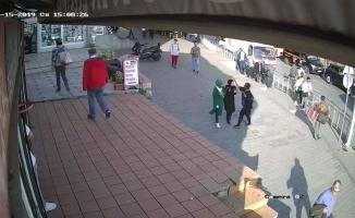 Karaköy'de çirkin saldırı!