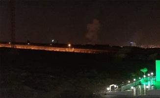 Şanlıurfa'da şiddetli patlama sesi