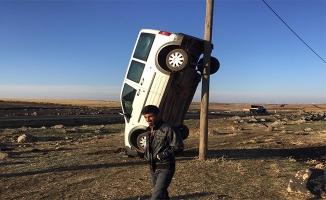 Siverek'te bir ilginç kaza!