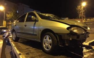 Siverek'te otomobil refüje çıktı: 6 yaralı