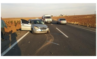 Suruç'ta trafik kazası: 4 yaralı