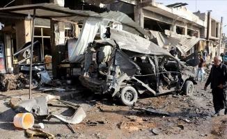 Esed rejimi İdlib'de pazar yerini vurdu