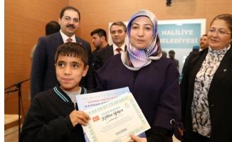 Haliliye'de 'Kitabımı Gör' etkinliği