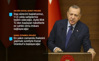 ''Kanal İstanbul Projesi'ni rafa kaldırmayız''