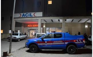 Köpeğe çarpan minibüsteki 7 öğretmen yaralandı