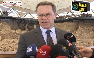 Makedonya Kültür Bakanı Göbeklitepe'yi gezdi
