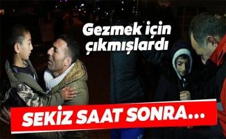 Samsun'da kaybolan iki çocuk bulundu