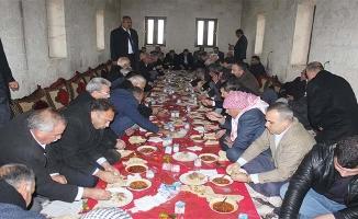 Suruç'ta husumetli aileler barıştı