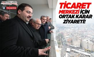 Başkanlar Ticaret Merkezini İnceledi!