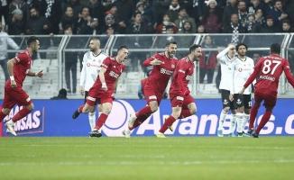 Beşiktaş, Sivasspor karşısında tutunamadı