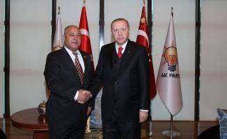 Cumhurbaşkanı Erdoğan, Başkan Soylu'yu kabul etti