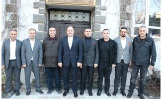 Gülpınar, Diyarbakır AA'yı ziyaret etti