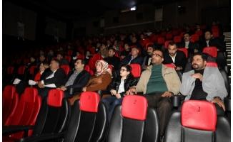 Haliliye'de gazetecilere sinema etkinliği