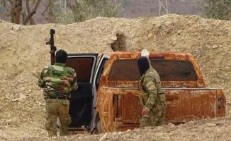 İdlib'de ilerlemeye çalışan rejim güçleri püskürtüldü