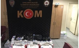 Kaçak sigara operasyonunda 6 şüpheli gözaltına alındı