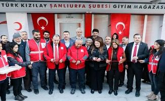 Şanlıurfa'da Kızılay'ın mağazası açıldı