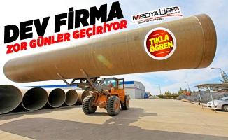 Urfa'daki dev fabrika zor günler geçiriyor!