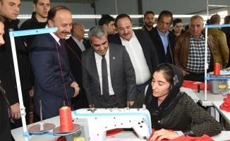 Viranşehir'in ilk tekstil fabrikası açıldı
