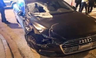 AK Partili kadın vekil trafik kazası geçirdi