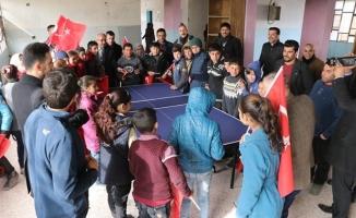 Barış Pınarı Bölgesinde 45 Bin Suriyeli Çocuğa Aşı Kampanyası