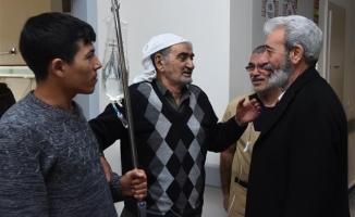 Başkan Aydın hastaları ziyaret etti