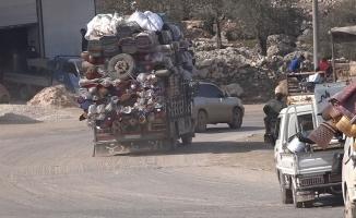 Dare İzze'den göç başladı
