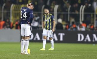Fenerbahçe'deki çöküş sürüyor!